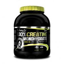 BioTech USA 100% Creatine Monohydrate за качване на мускулна маса и сила