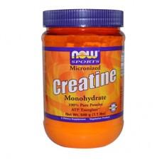 Now Foods Creatine Monohydrate за качване на мускулна маса и сила