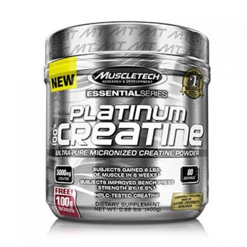 MuscleTech Essentials series Platinum 100% Creatine